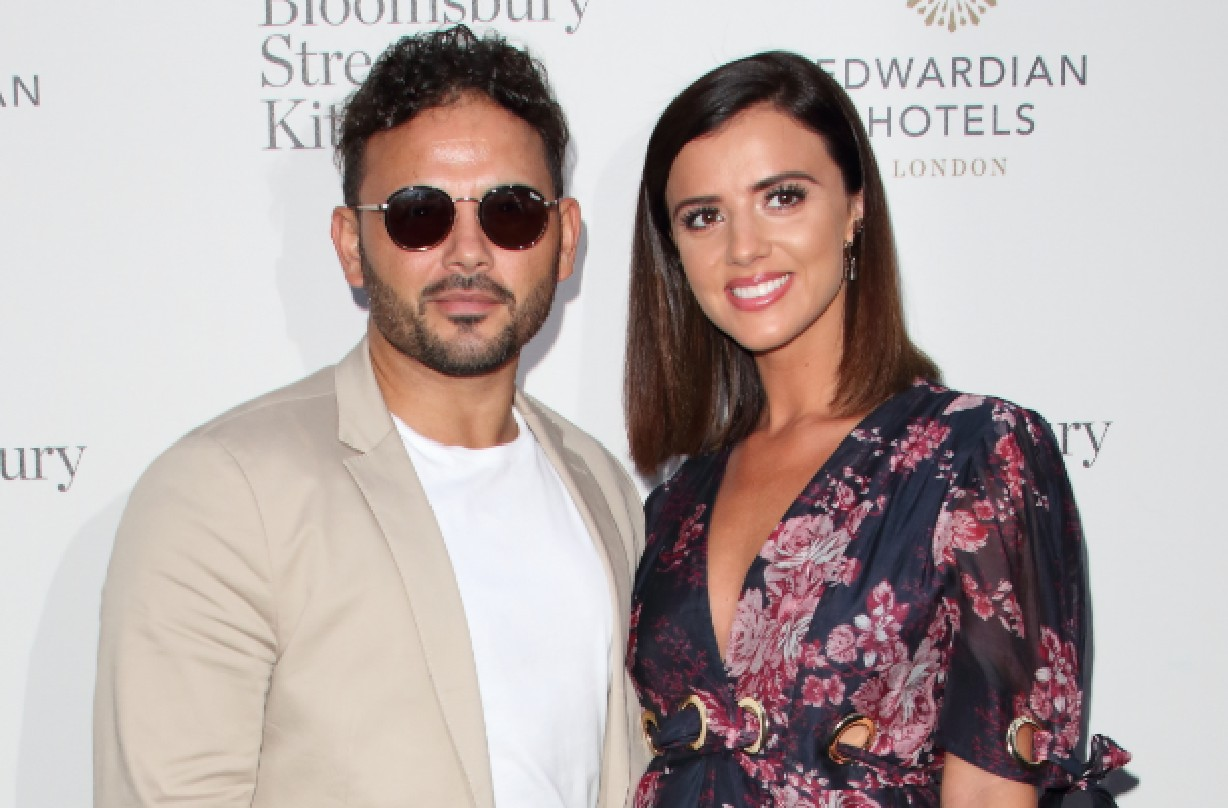 Ryan Thomas and Lucy Meck