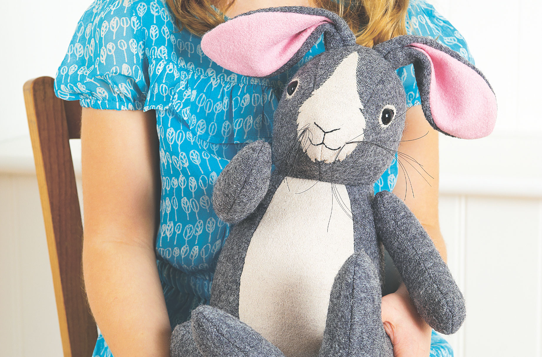 sew your toy rabbit