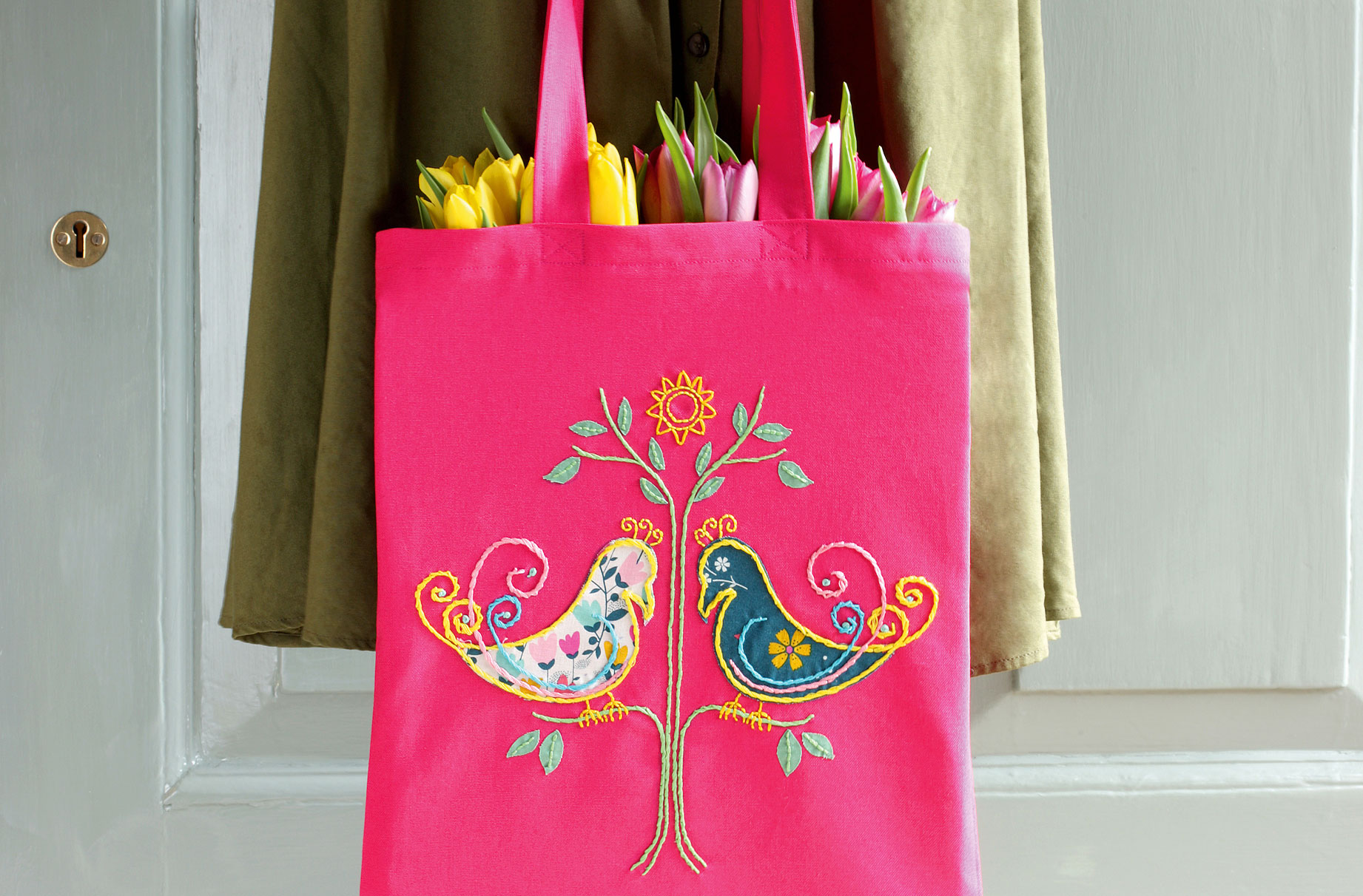 embroider your own tote bag