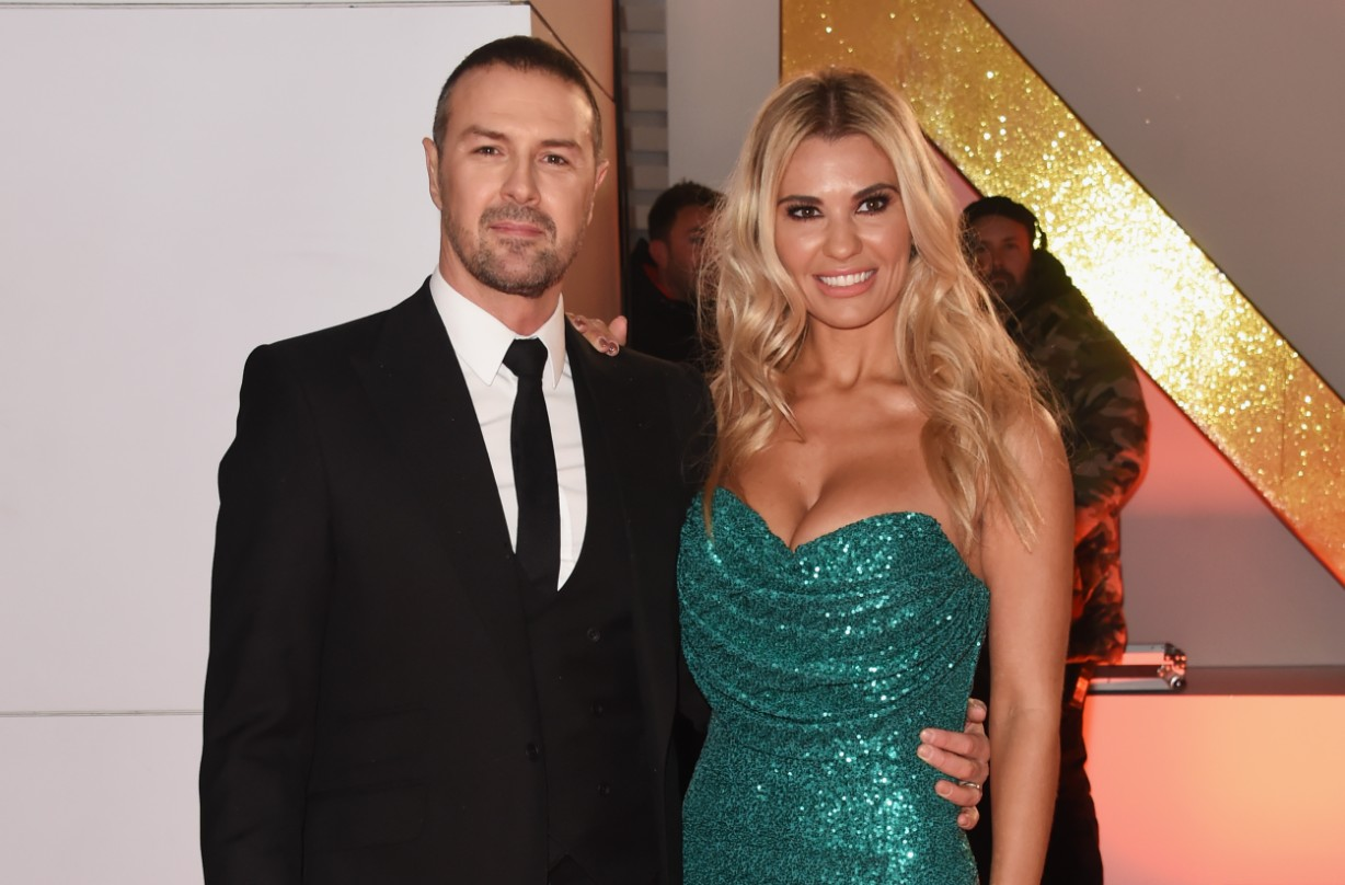 Paddy McGuinness and wife Christine McGuinness