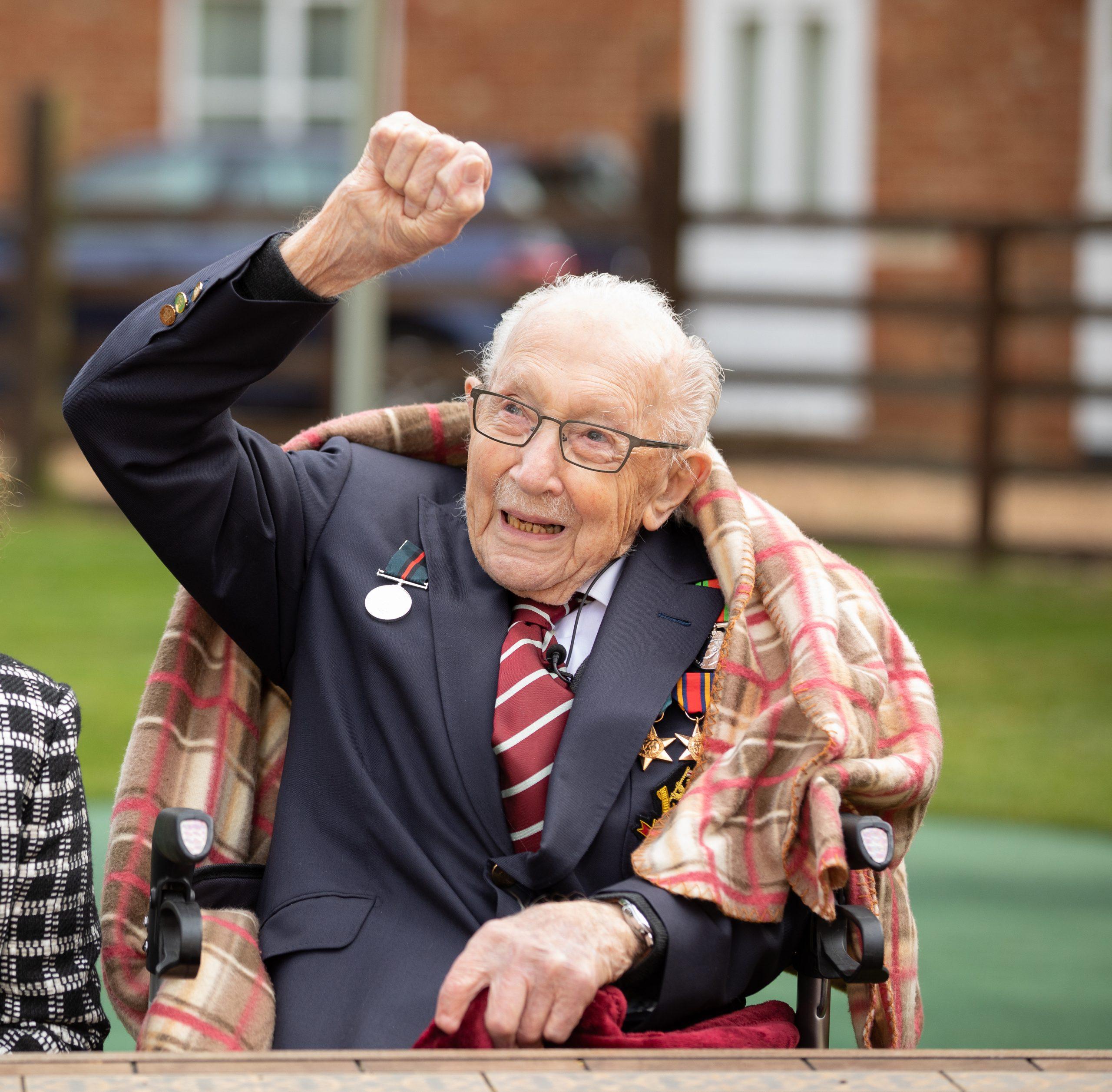 Captain Tom Moore's 100th birthday