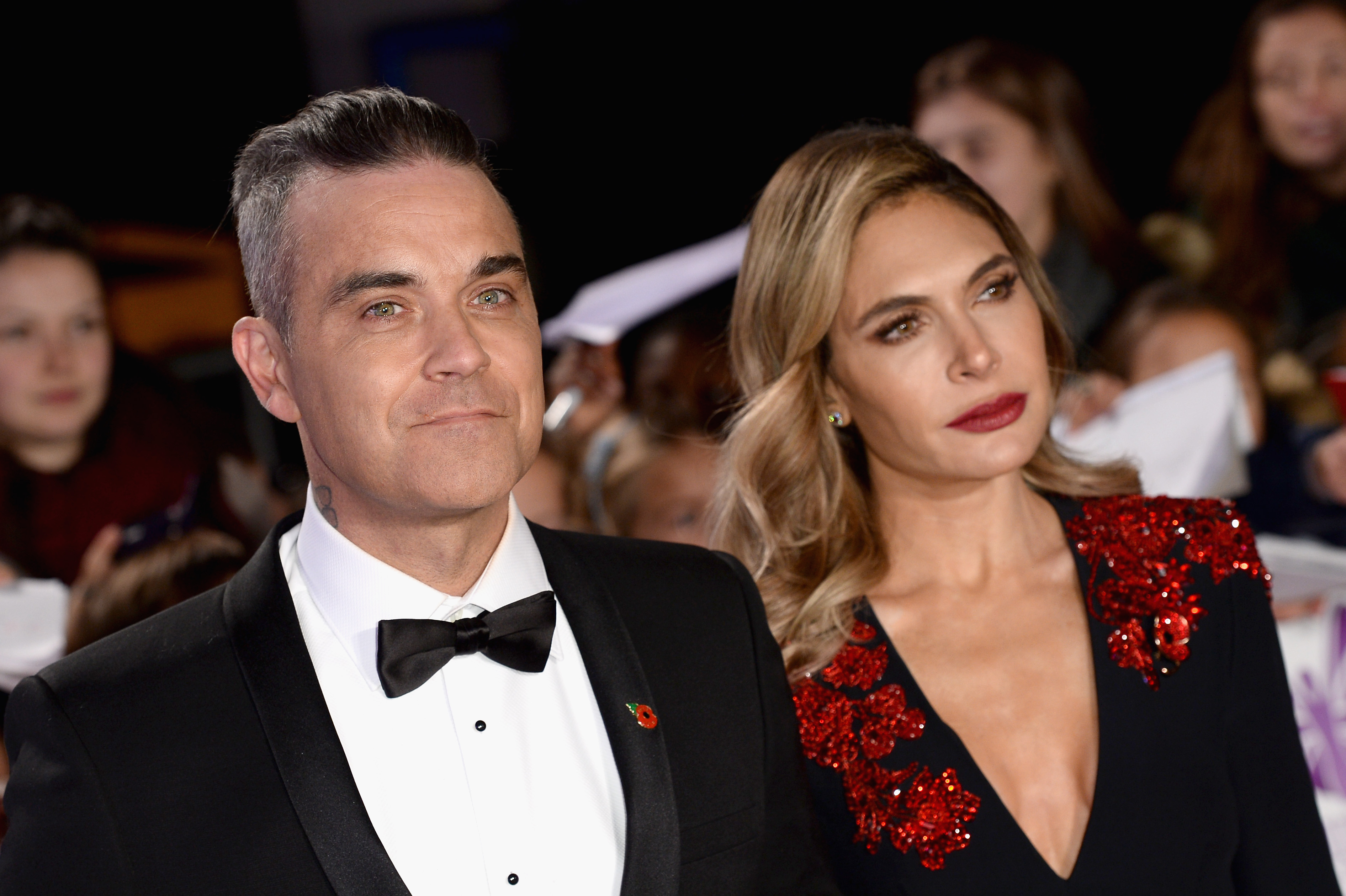 Robbie Williams and Ayda Field reveal why they've banned sex during lockdown