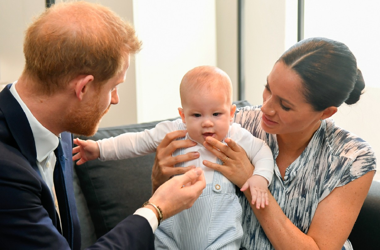 Meghan and Harry fear for Archie's safety after becoming a drone target