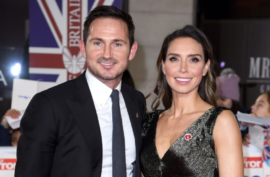 Frank Lampard and Christine Lampard
