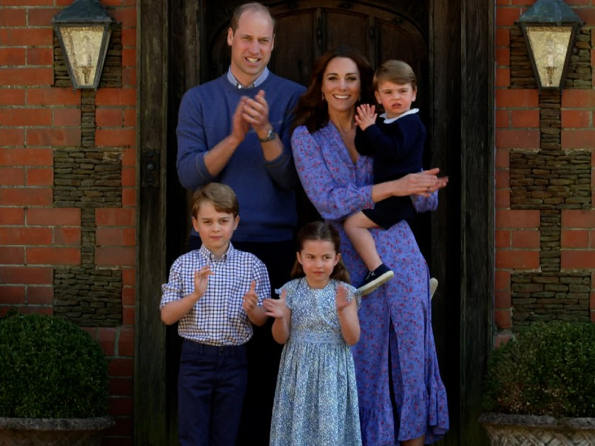 Kate Middleton giving George, Charlotte and Louis DIY haircuts