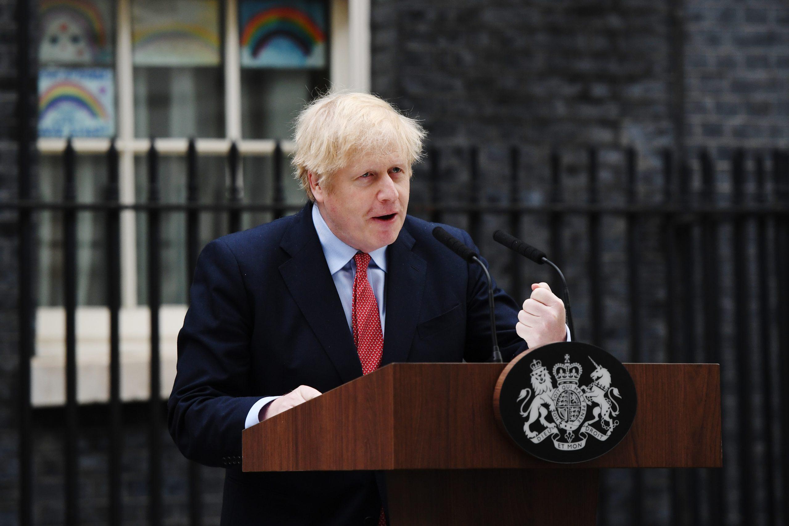When is Boris Johnson's next speech?