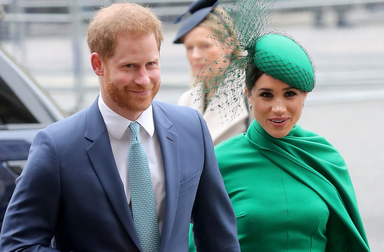 Prince Harry and Meghan Markle give glimpse of new home