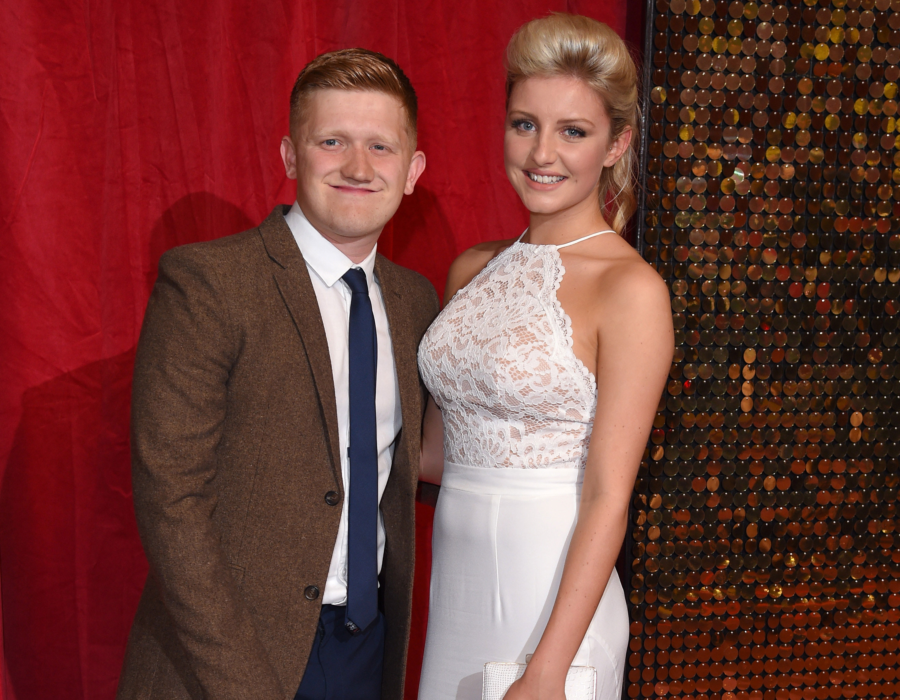 Coronation Street star Sam Aston and his wife Briony are expecting a baby