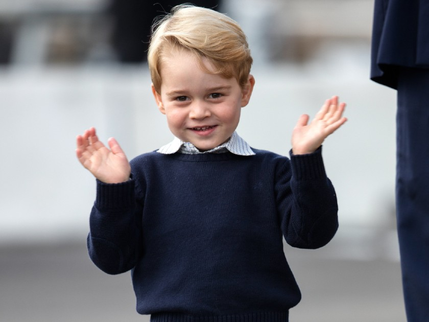 A day in the life of Prince George revealed from waking up to bedtime