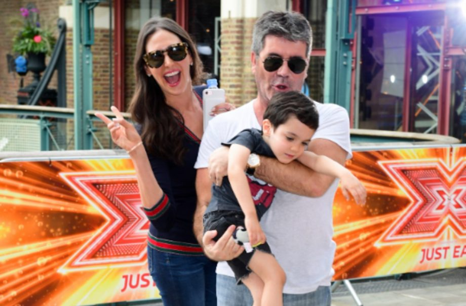 lauren Silverman, Simon Cowell and son Eric