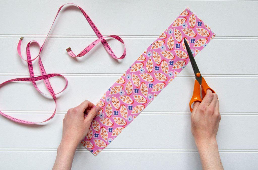 How to make hair scrunchies