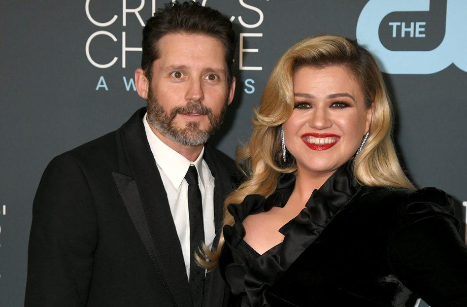 kelly clarkson files divorce husband Brandon Blackstock
