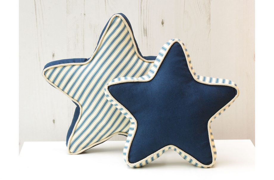 How to make a set of star cushions