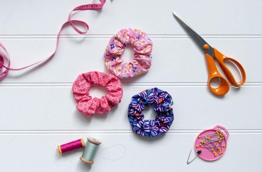 How to make hair scrunchies