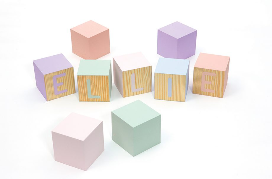 How to make personalised building blocks