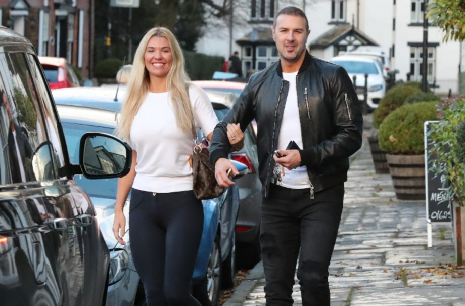 Paddy McGuinness and wife Christine