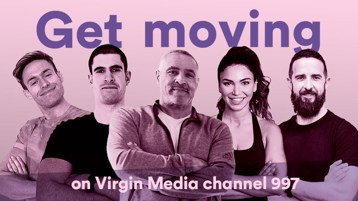 Virgin Media launches UK's first fitness channel for FREE family workouts