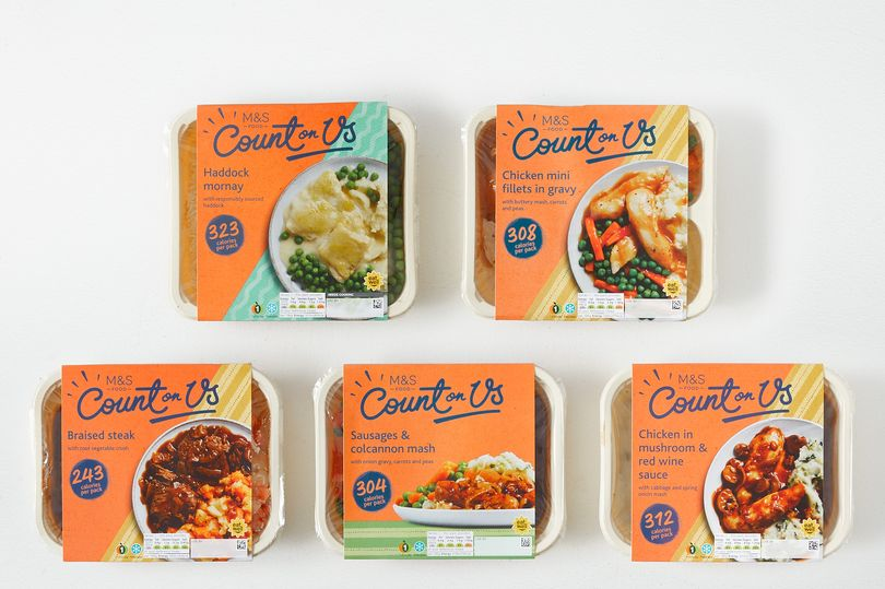 M&S just launched a Count on Us food box full of low-calorie meals to make dieting so easy