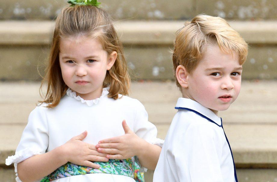 prince george princess charlotte lockdown activity outdoors