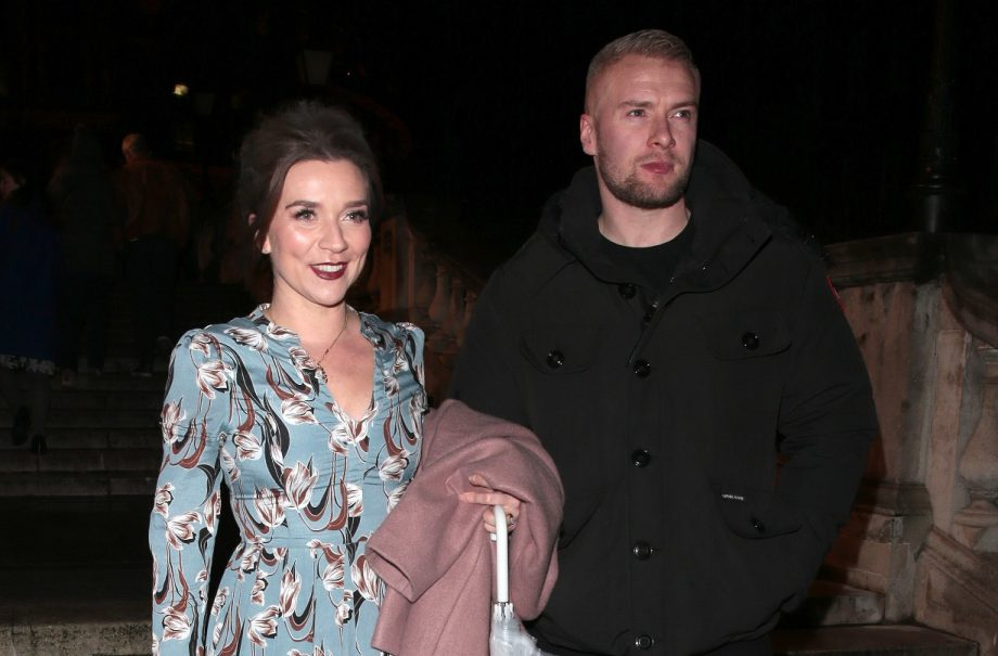 Candice Brown and Liam Macauly