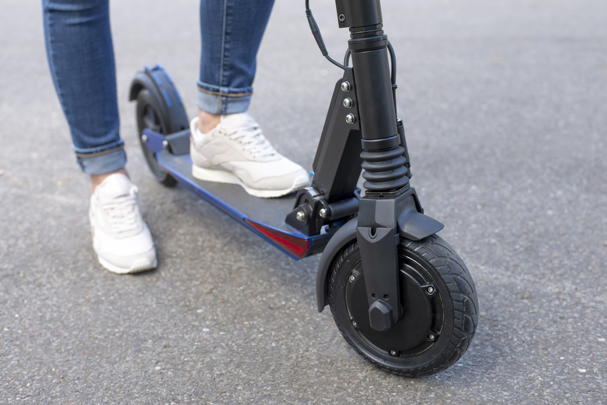 Mum issues warning after son's electric scooter caught fire