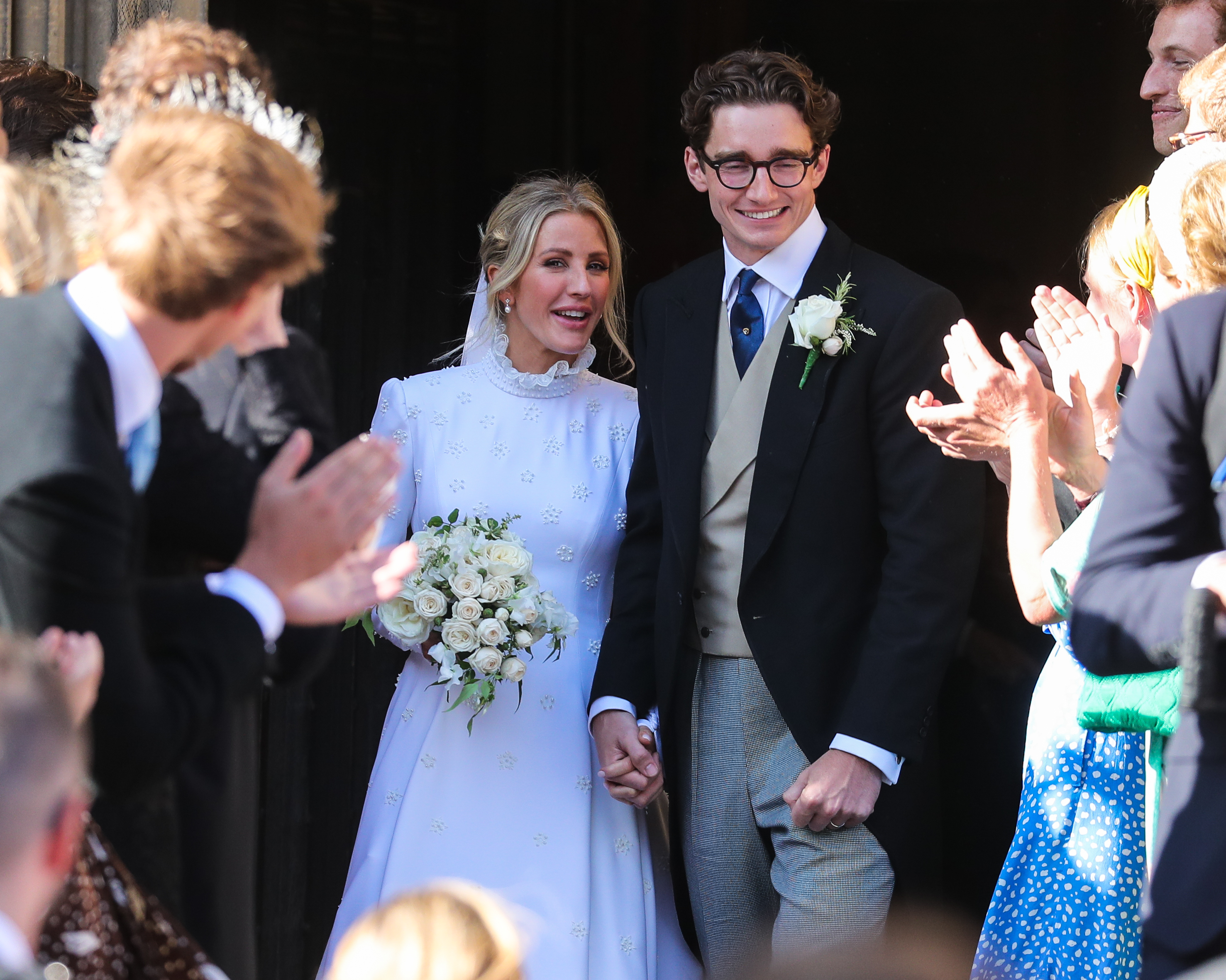 Ellie Goulding admits she's living apart from husband Caspar Jopling after less than a year of marriage