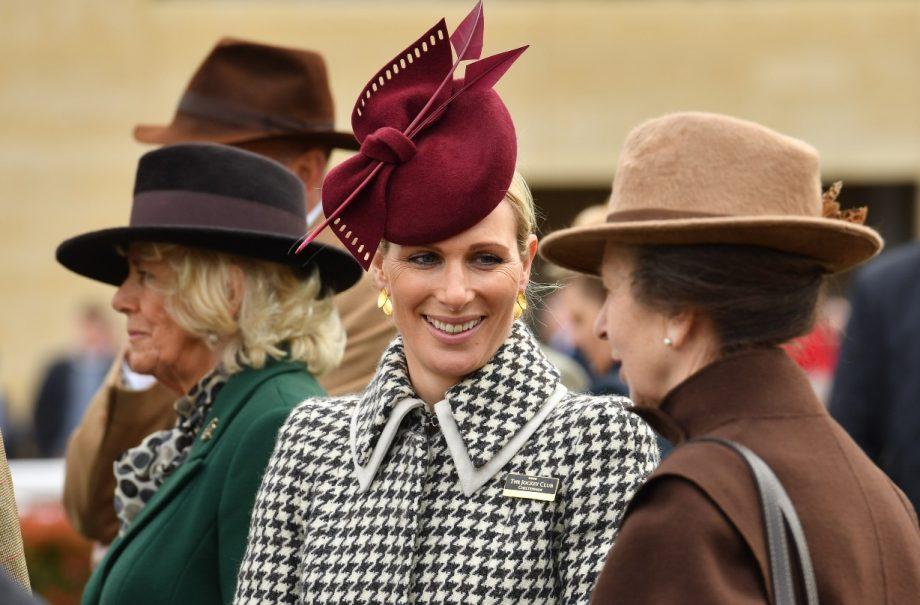 Zara Tindall and her mum Princess Anne
