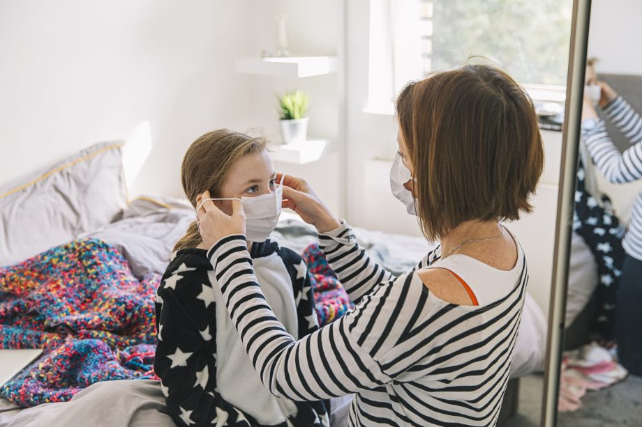 Do children have to wear masks and how should you talk about face coverings?