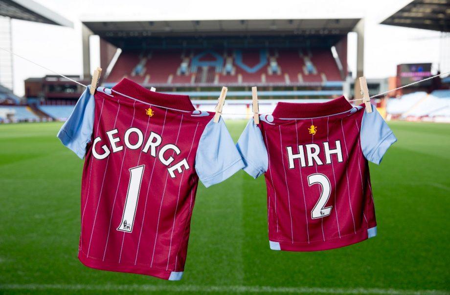 Prince George HRH football kits