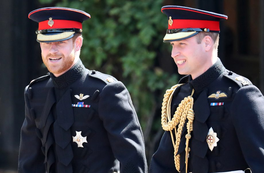 prince harry prince william important move royal split diana fund