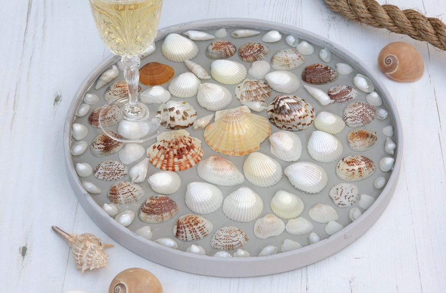 How to make a shell tray