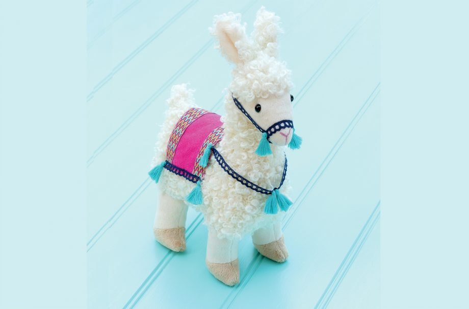 How to sew a llama toy