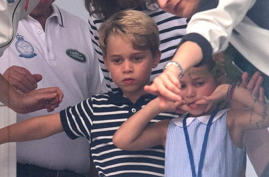 Prince George and his sister Charlotte