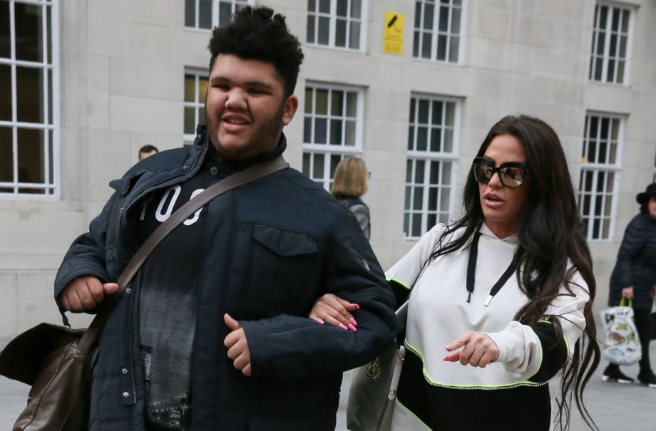 Harvey Price and Katie Price