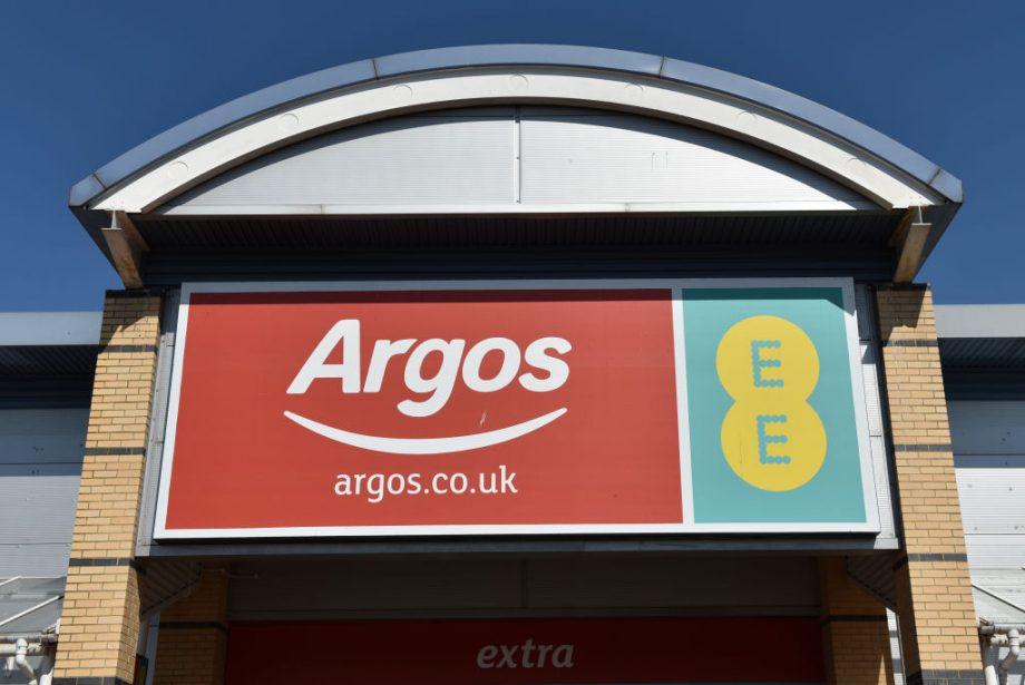 Argos toys