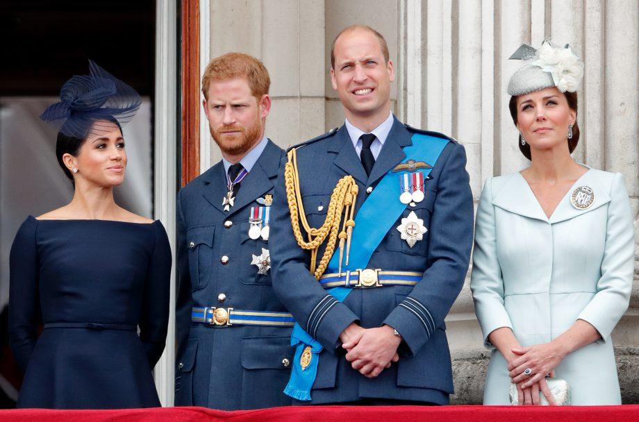 Prince Harry Prince William Kate Middleton Meghan Markle