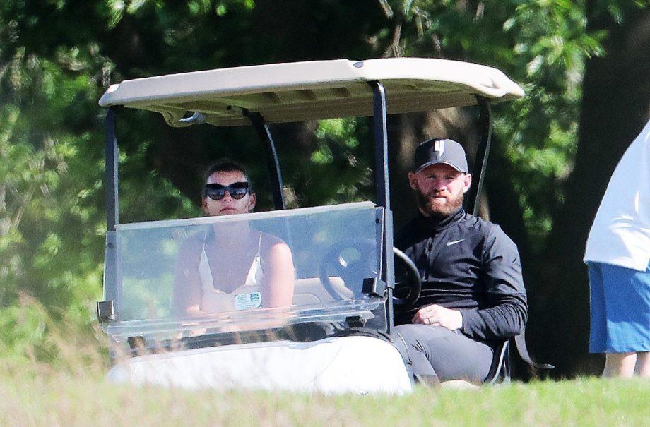 Coleen Rooney and husband Wayne Rooney