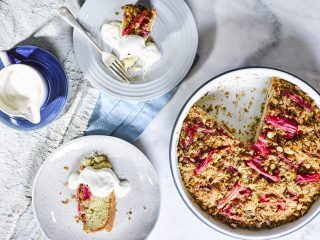 This is the delicious twist on a rhubarb crumble you need to try