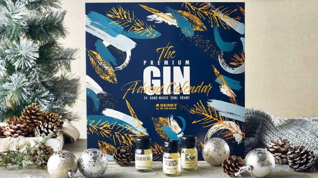 The Premium Gin Advent Calendar from Drinks by the Dram