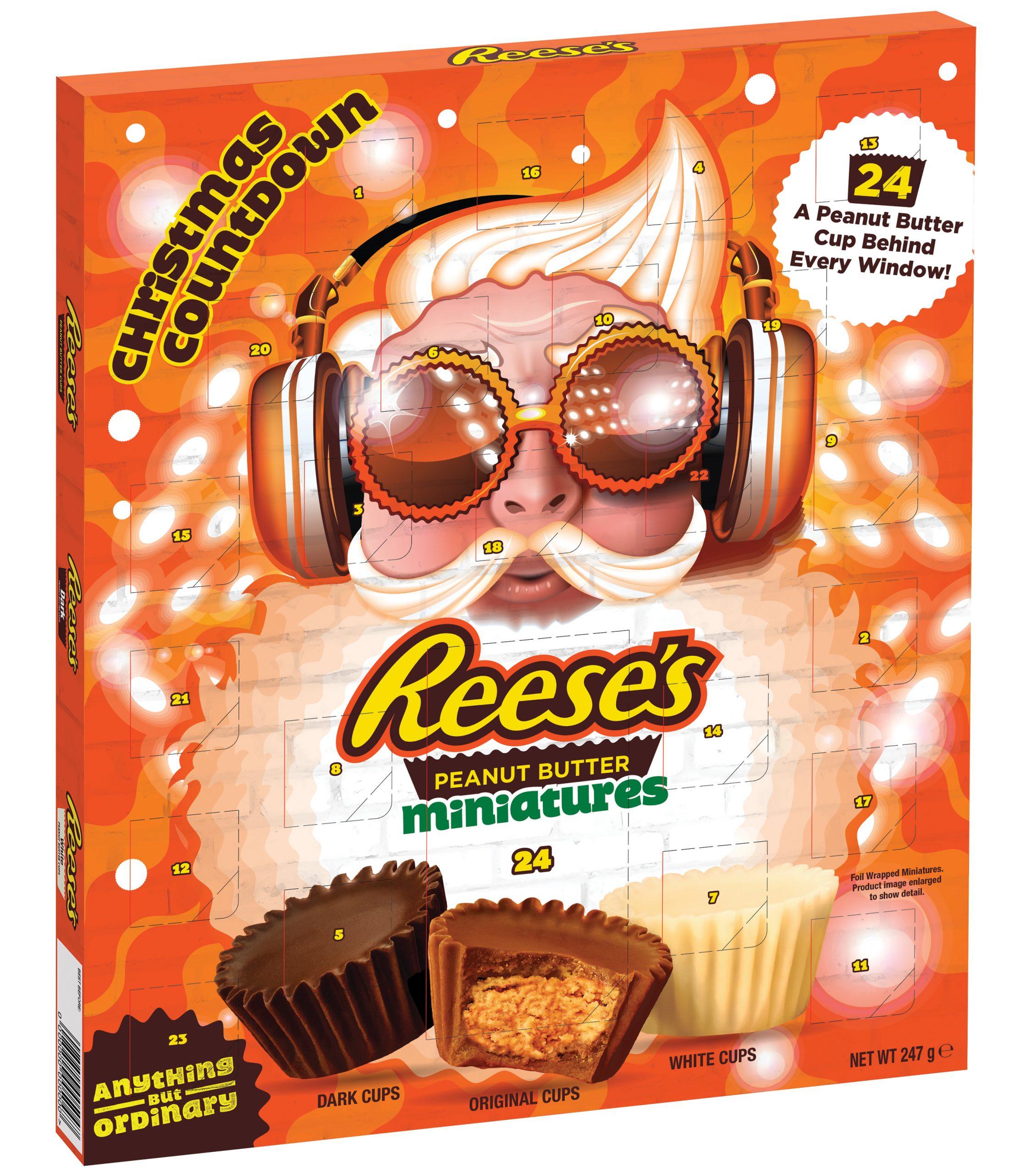 Reeses piece chocolate Advent Calendar 2020 v3