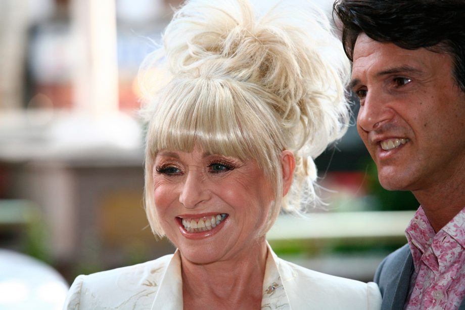 Barbara Windsor and her husband Scott