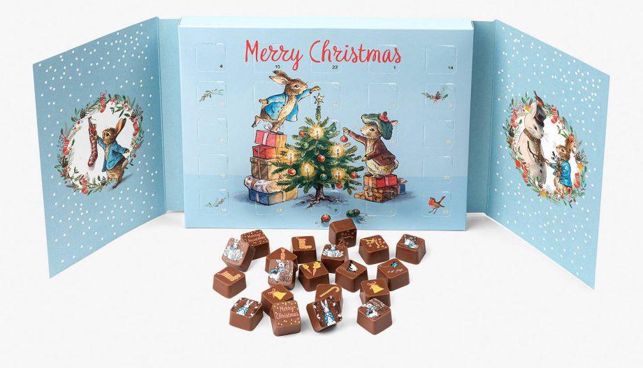 best chocolate advent calendars Charbonnel et Walker Peter Rabbit Chocolate Advent Calendar