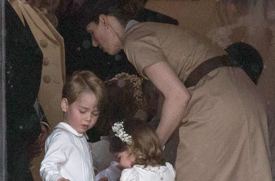 Prince George, Charlotte, Norland Nanny Ms Borrallo