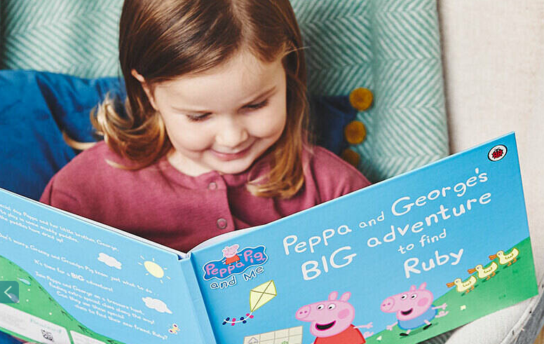 Personalised books for kids - Peppa Pig