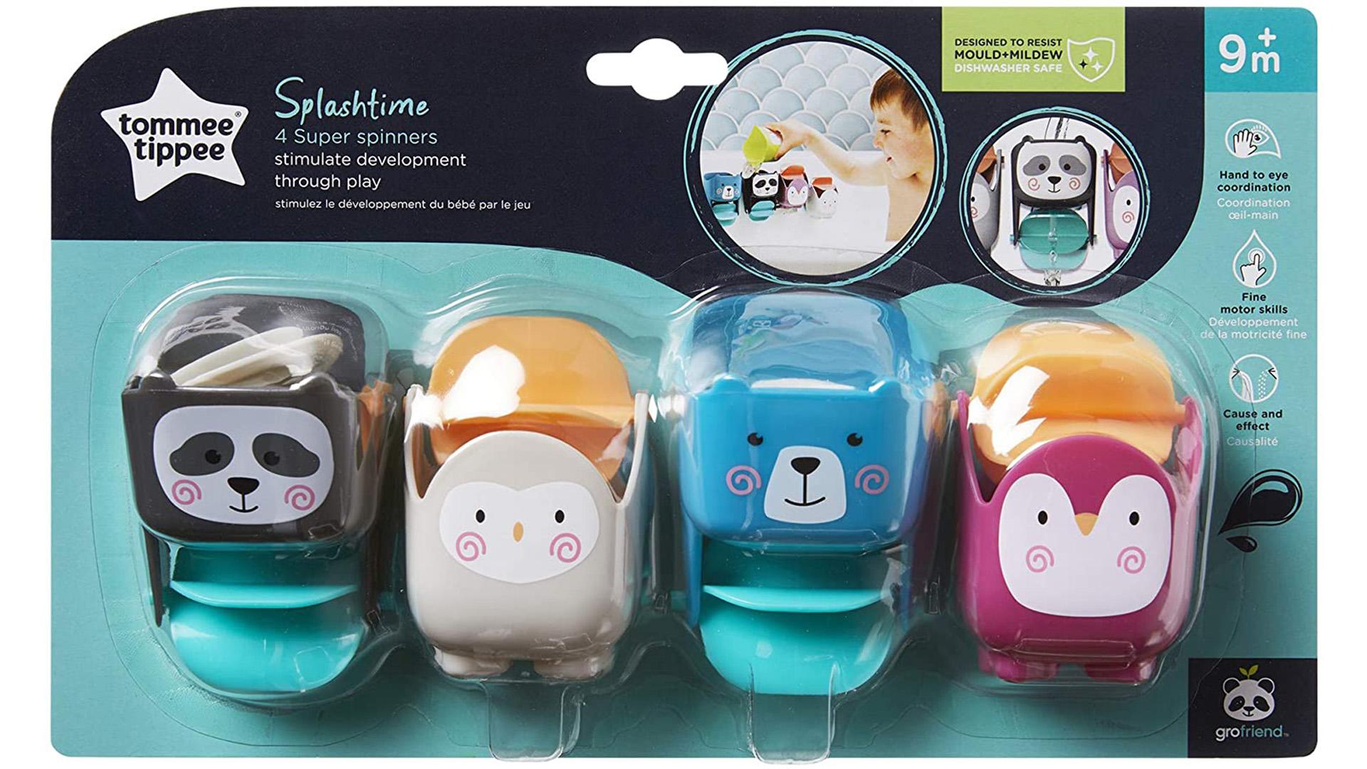 Tommee Tippee Splashtime Super Spinners bath toys