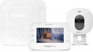 Angelcare Ac327 3-in-1 Sensasure Baby Movement Monitor with Video