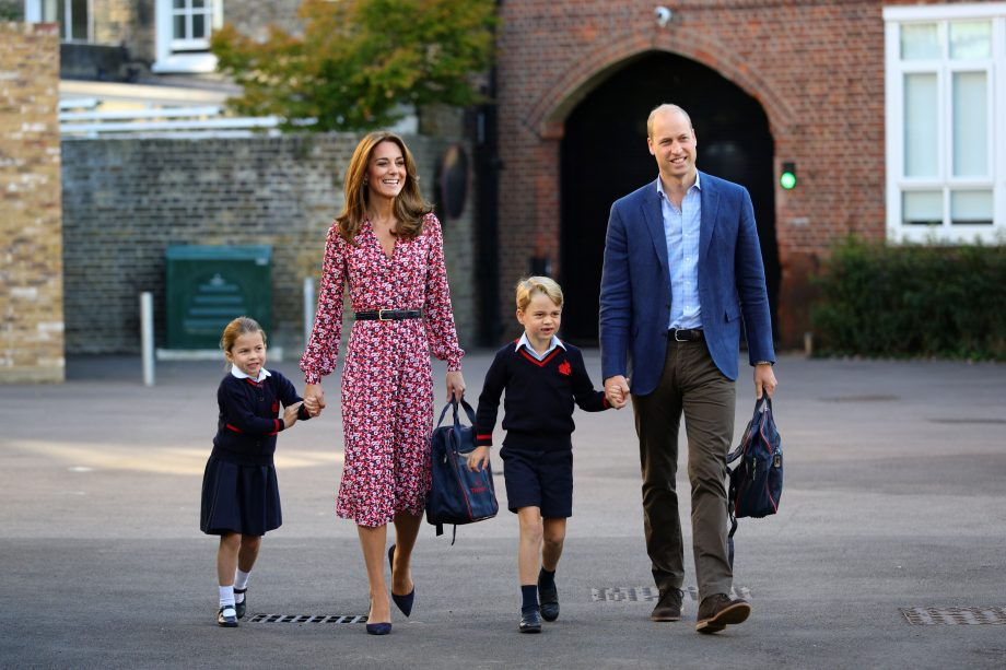 Prince William Kate Middleton Princess Charlotte