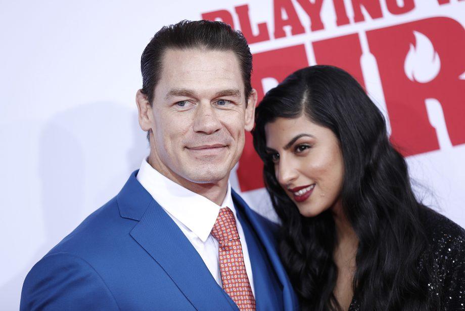 John Cena wife Shay Shariatzadeh