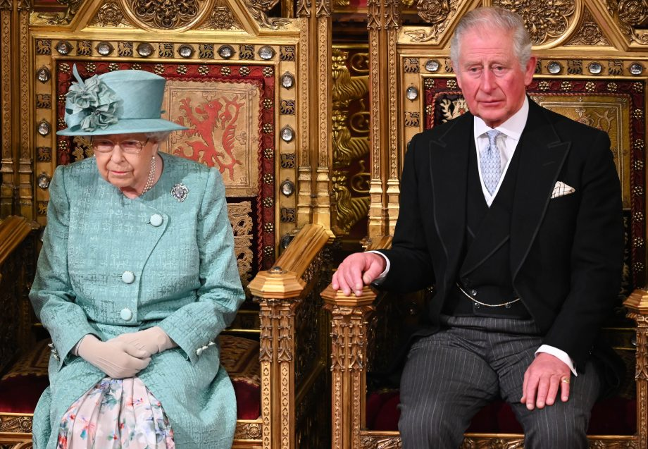 Prince Charles the Queen