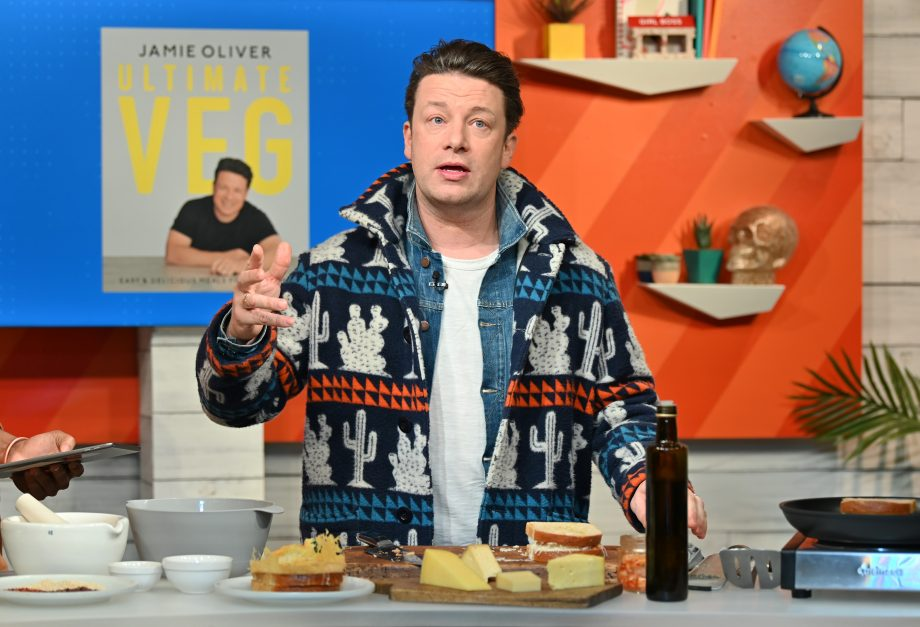 Jamie Oliver shares family photo